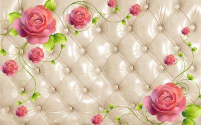 3D flower-12 for walls